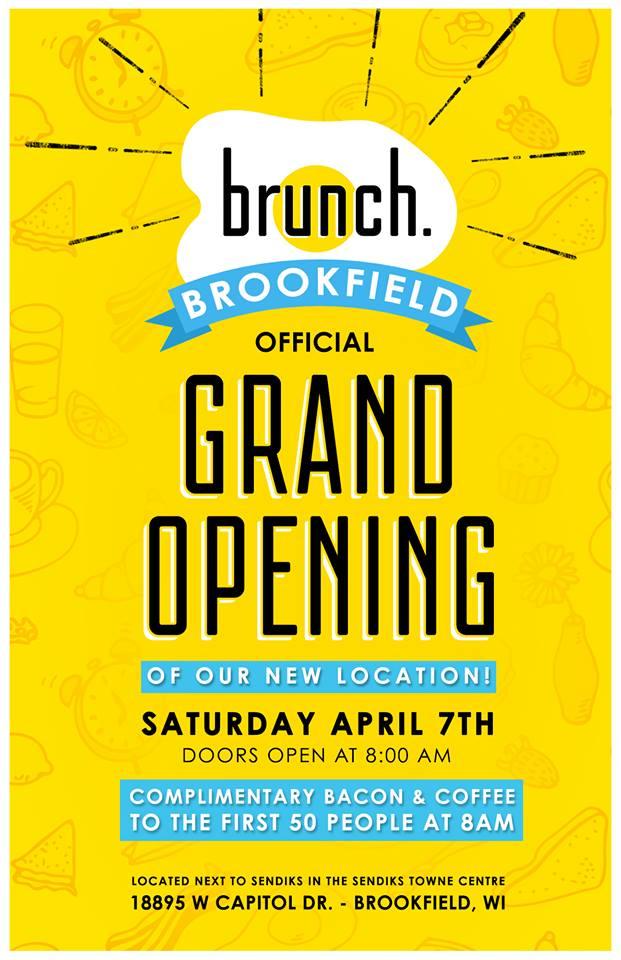 Brunch Grand Opening