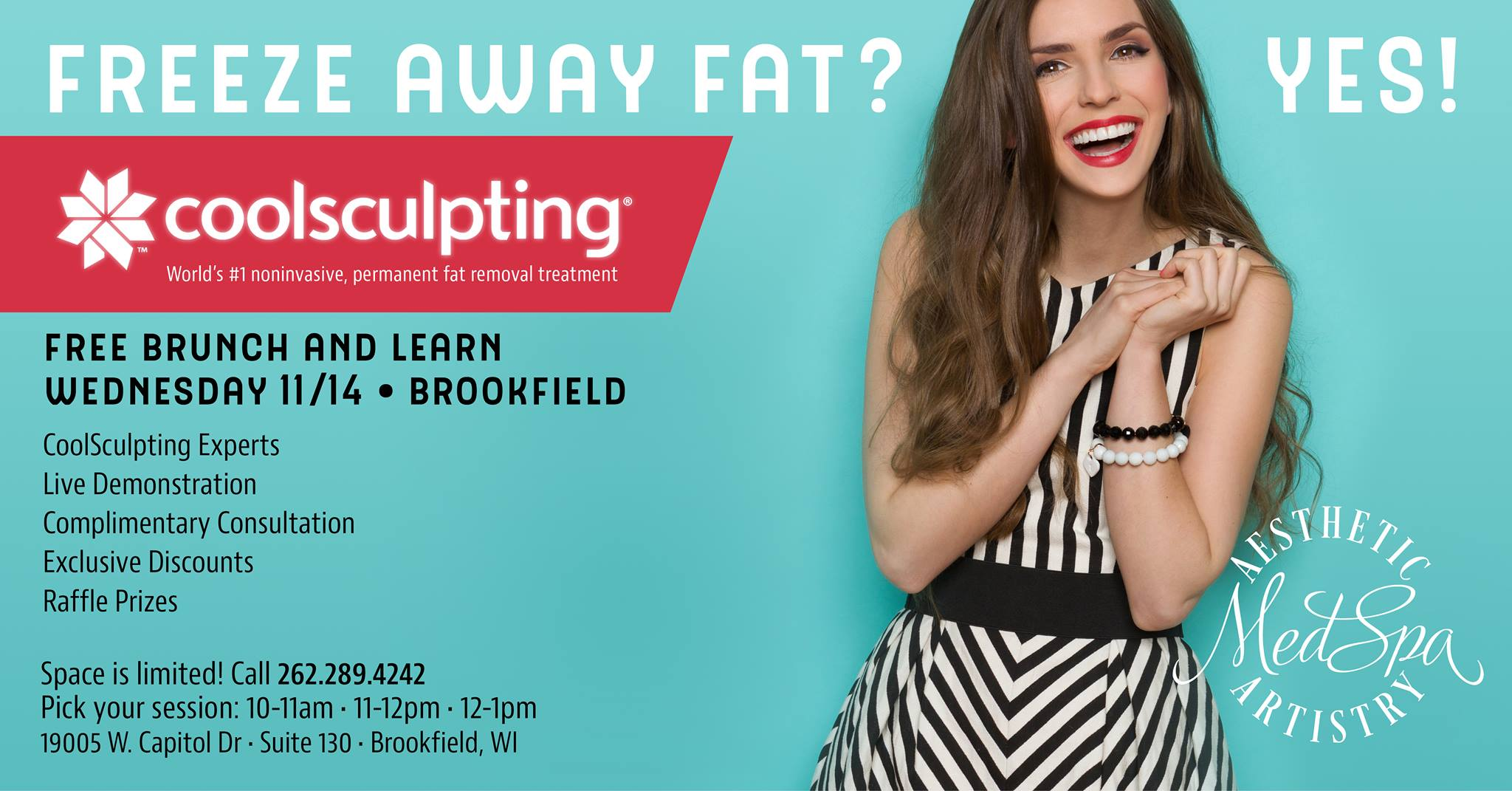 CoolSculpting Event at Aesthetic Artistry MedSpa
