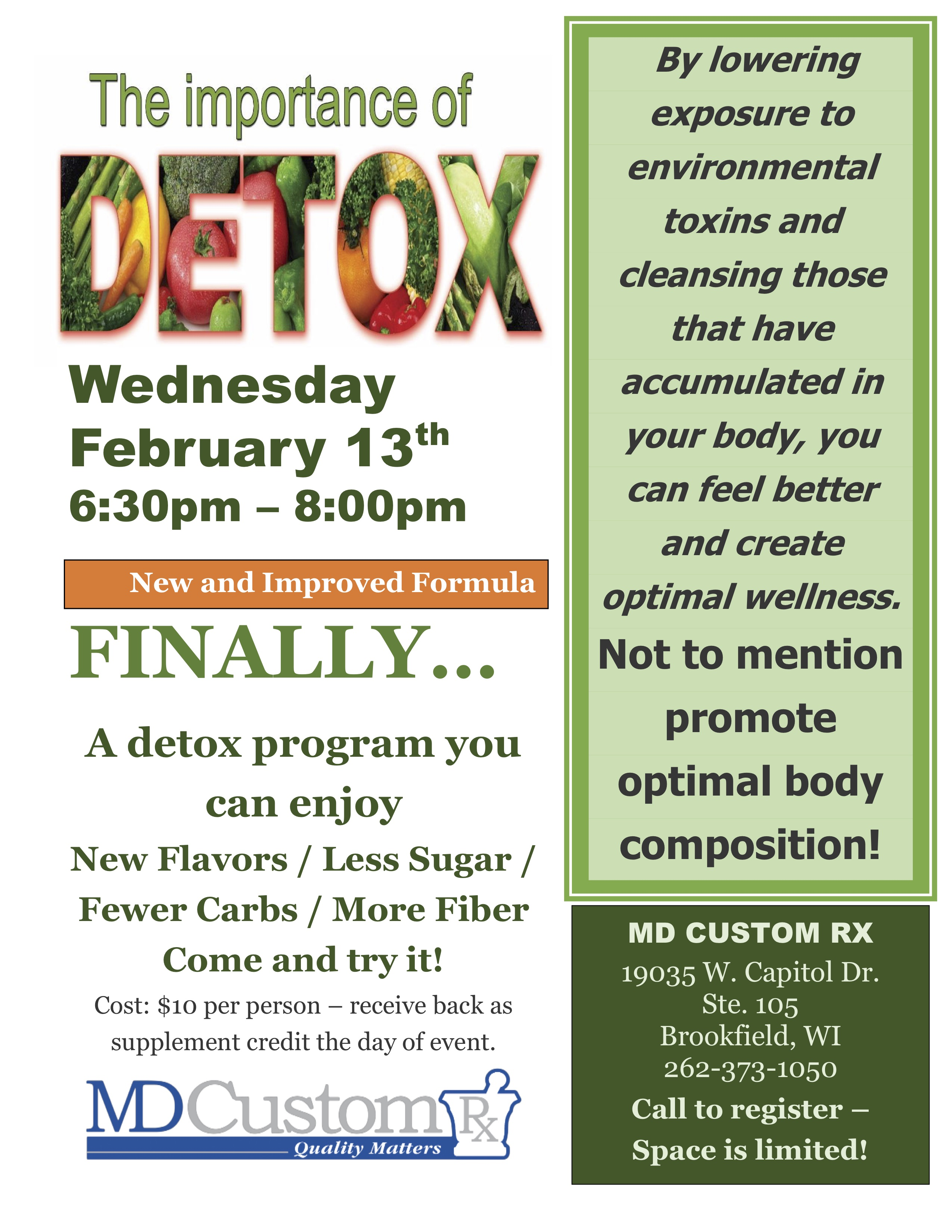 Importance of Detox