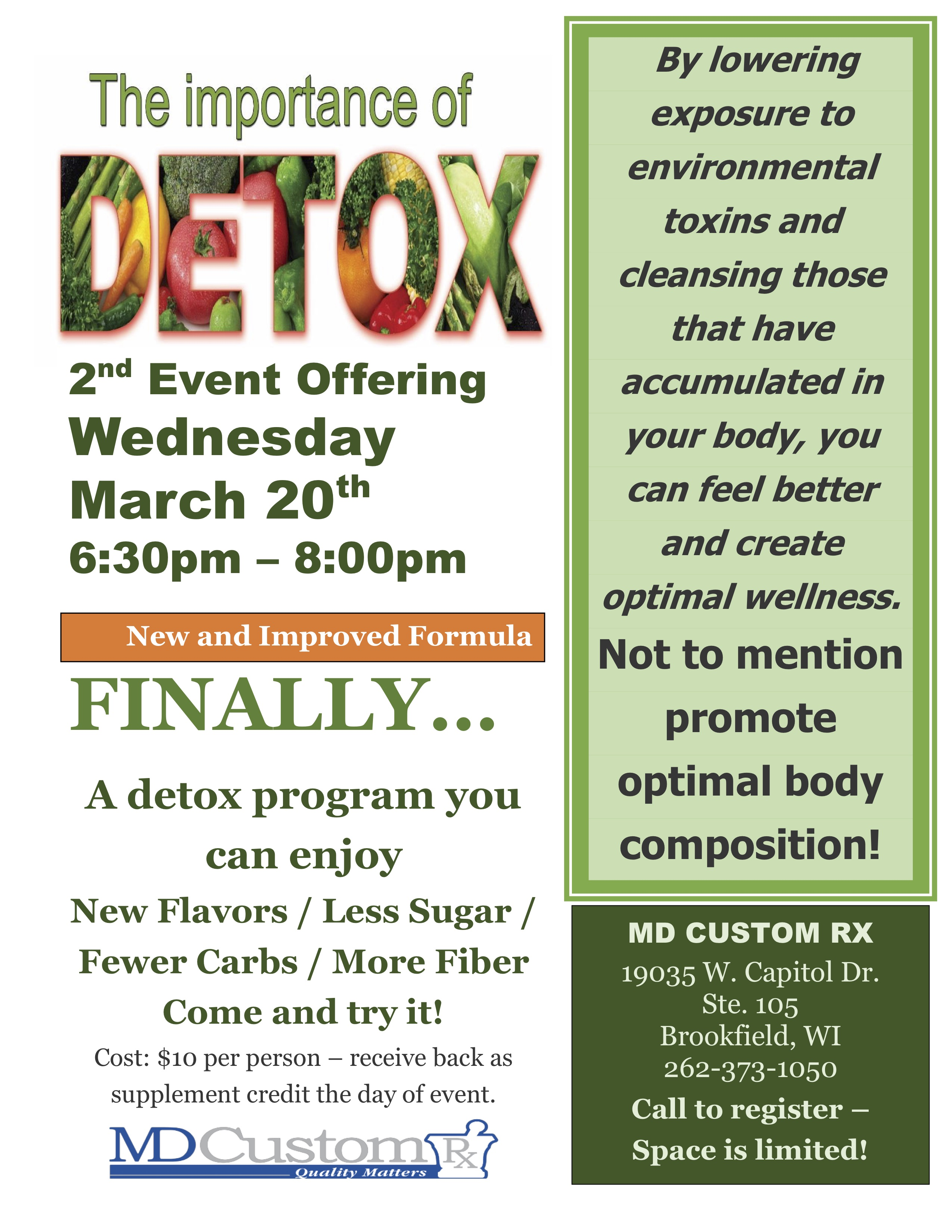 Importance of Detox!