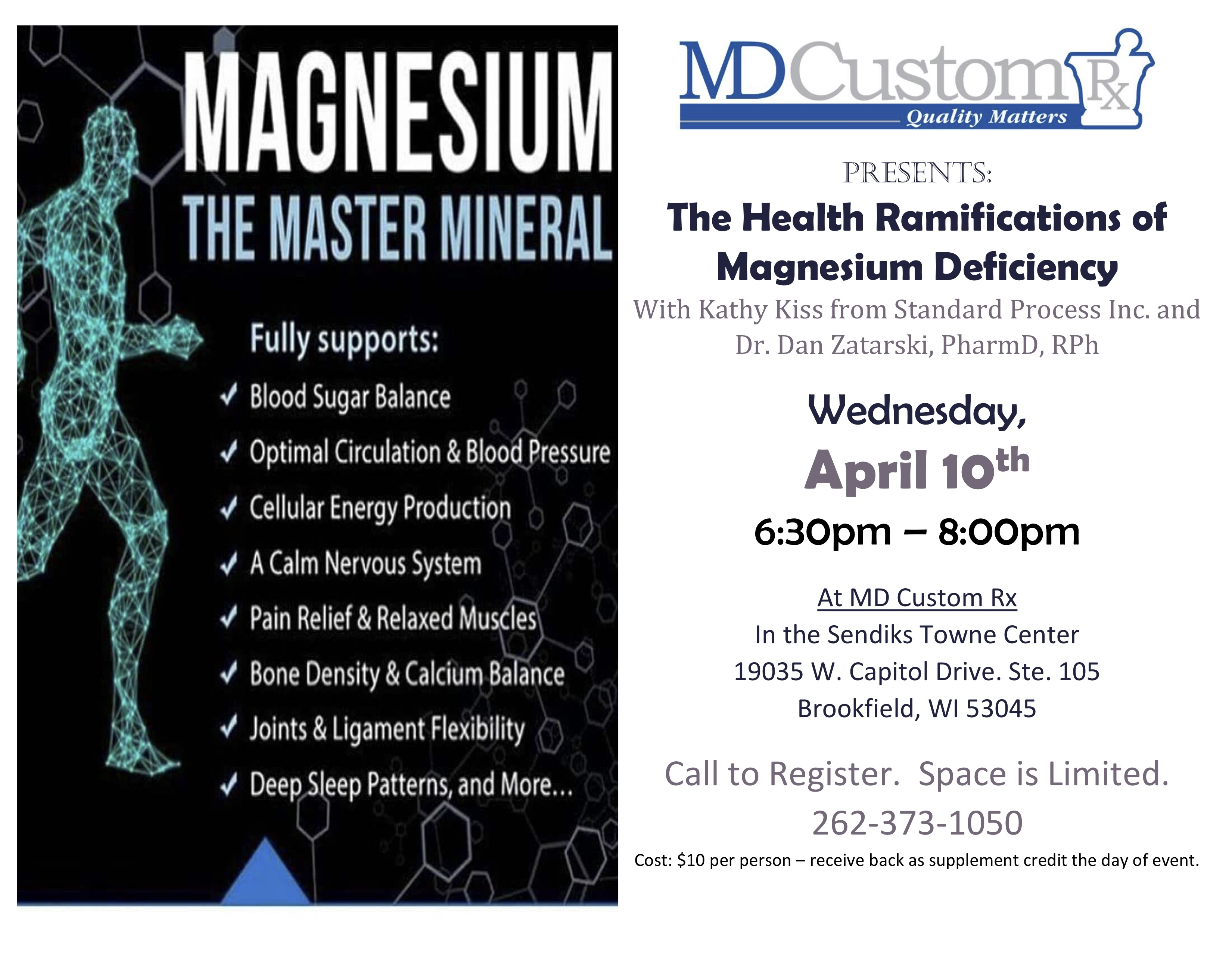 The Health Ramifications of Magnesium Deficiency