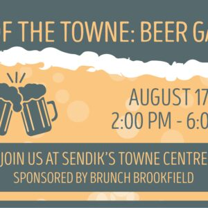 Talk of the Towne: Beer Garden