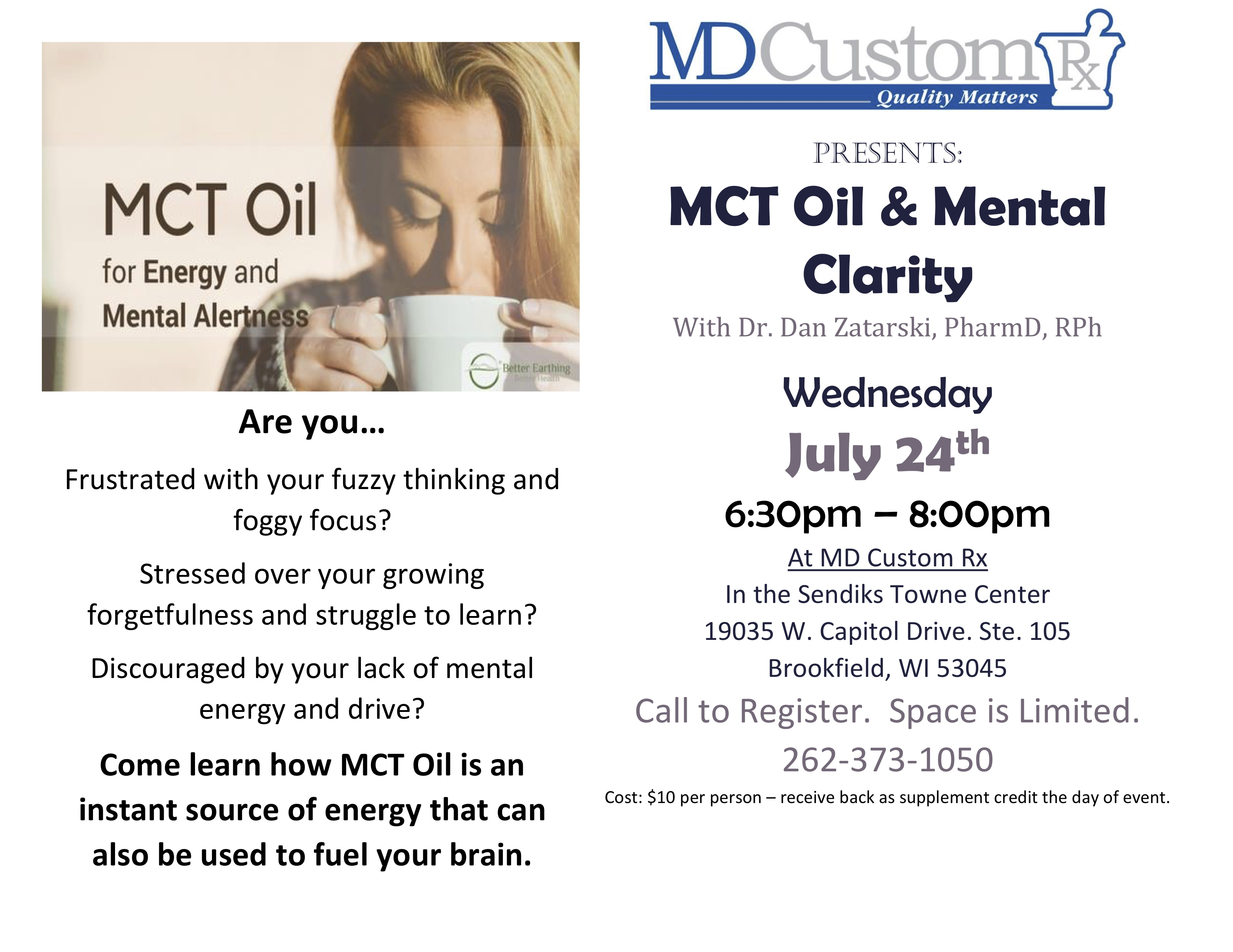 MCT Oil and Mental Clarity