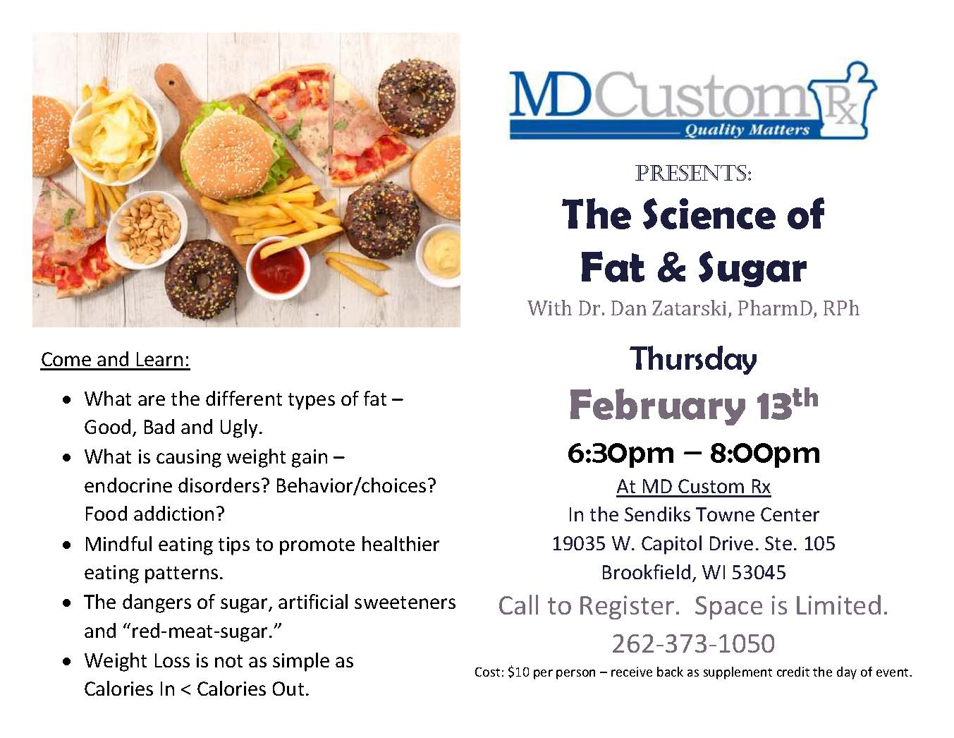 The Science of Fat & Sugar